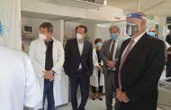 حب الله وافرام يجولان على المستشفيات المجهّزة بأجهزة تنفّس اصطناعي لبنانية
