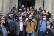 إعتصام لعمال بلدية طرابلس احتجاجاً على تفشّي الفقر وانهيار الليرة