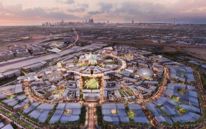 أول معرض إكسبو بالشرق الأوسط يفتح أبوابه في دبي في ظل جائحة «كورونا»