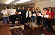 المعهد الفني الانطوني اختتم دورة في فن كتابة الأيقونات البيزنطية