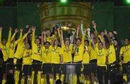بوروسيا دورتموند يرفع كأس ألمانيا