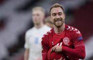 نجم الدنمارك إريكسن يطمئن الجماهير برسالة