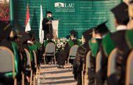 اللبنانية الأميركية احتفلت بتخريج أطباء