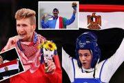 حصيلة اليوم الثالث لميداليات أولمبياد طوكيو 2020.. بينها 4 عربية