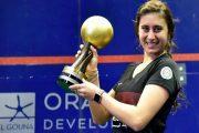 المصرية نور الشربيني تفوز ببطولة العالم للإسكواش للمرة الخامسة