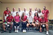 جلخ يلتقي أفراد البعثة داعياً لنتائج ترفع اسم لبنان ودويهي لتعزير رقمها في الـ٢٠٠ متر حرّة