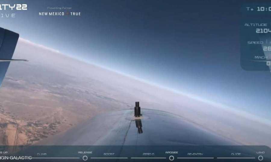 انطلاق أول رحلة سياحية مأهولة إلى الفضاء
