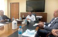 رئيس مجلس إدارة المرفأ يتسلّم مشروعاً لإعادة إعماره