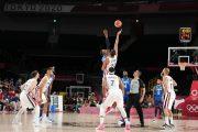 المنتخب الأمريكي لكرة السلة يتعرض لأول هزيمة في الألعاب الأولمبية