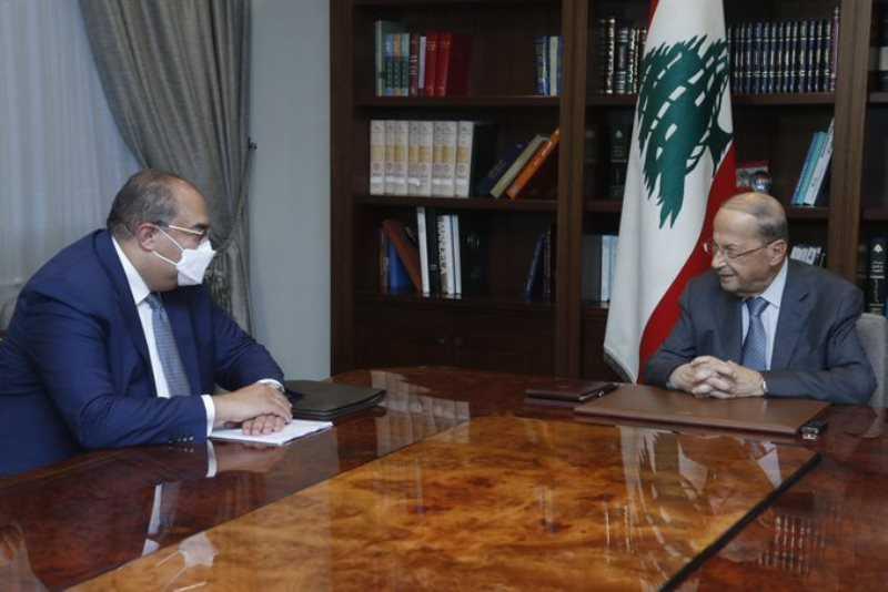 مسؤول بصندوق النقد عند عون وبري ووزني: 860 مليون دولار للبنان خلال شهرين