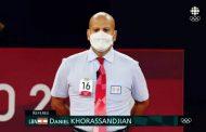 دانيال خوراسانجيان يتميّز في أولمبياد طوكيو تحكيمياً بشهادة كل الرسميين