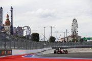 الأمطار الغزيرة تتسبب في تأجيل سباق فورمولا 2 في سوتشي
