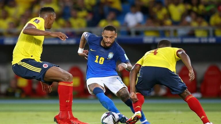 كولومبيا تنهي السجل المثالي للبرازيل في تصفيات مونديال قطر