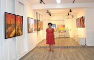 معرض فردي للفنانة ريتا الجميل في غاليري اكزود