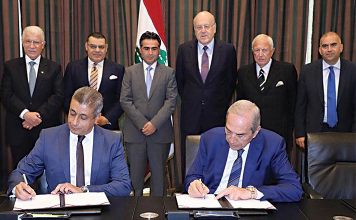 اتفاقية لاستكمال البنى التحتية بمرفأ طرابلس