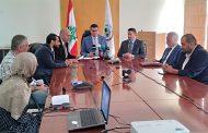 اجتماع تنسيقي بين وزارات الاقتصاد والزراعة  والخارجية وملحقين اقتصاديين